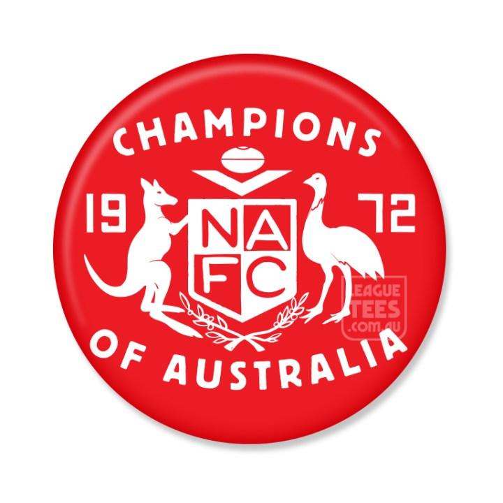 north adelaide vintage football badge