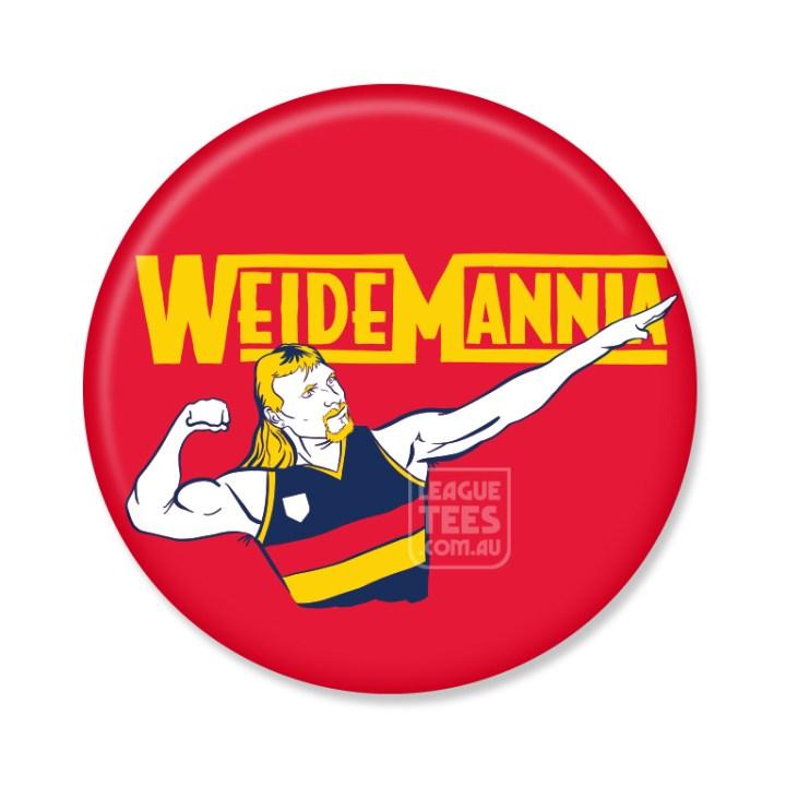 wayne weidemann vintage football badge