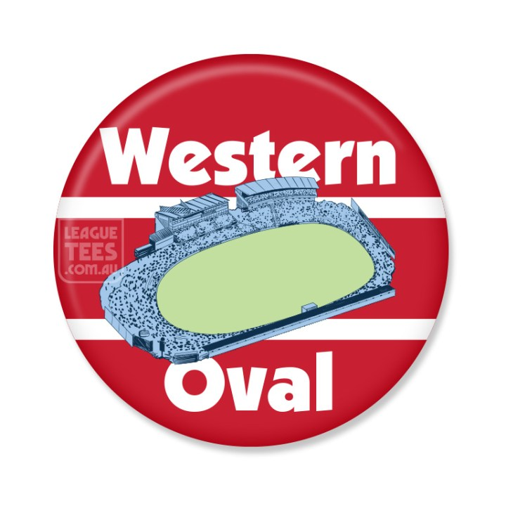 western oval badge