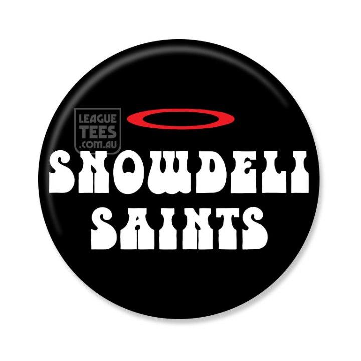 snowdeli saints vintage football badge