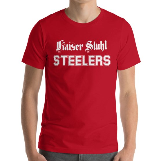 steelers rugby league retro shirt