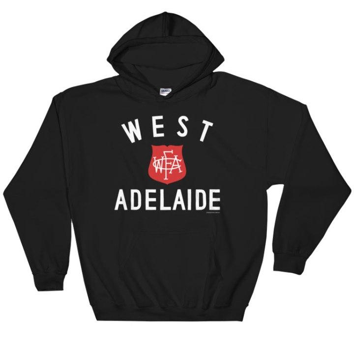 west adelaide footy hoodie black