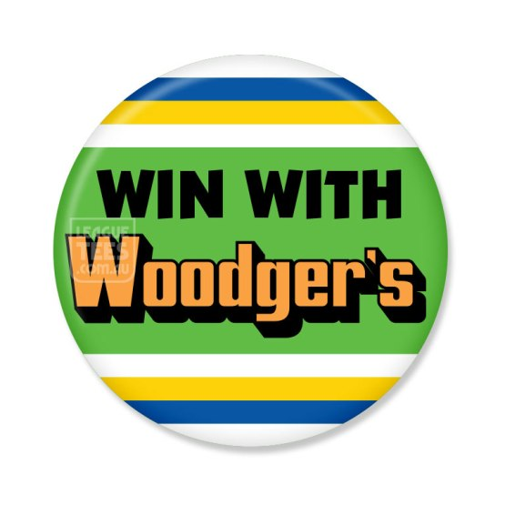 woodgers retro rugby league jersey badge