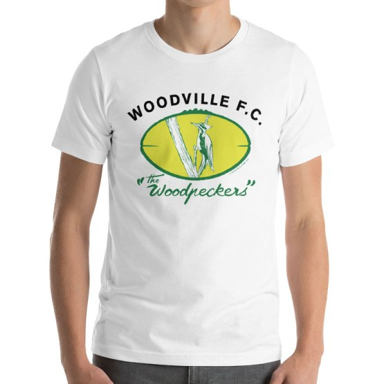 woodville football club retro footy shirt