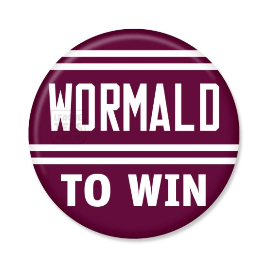 wormald rugby league jersey badge