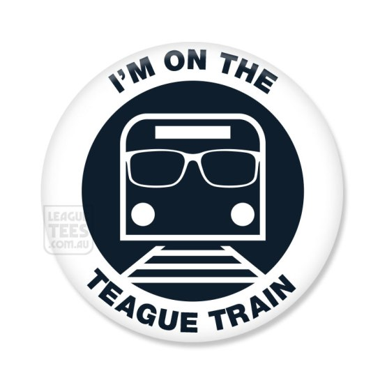 teague train badge