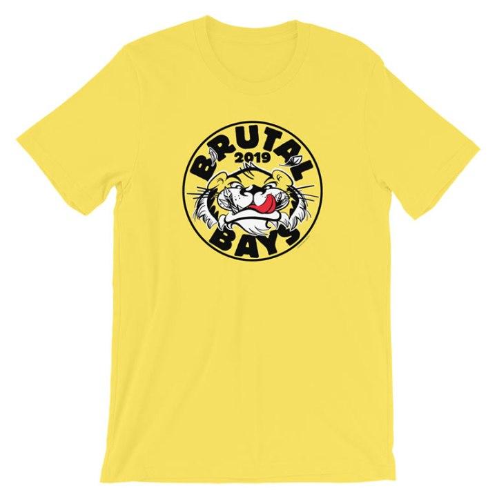 glenelg 2019 premiership t-shirt yellow