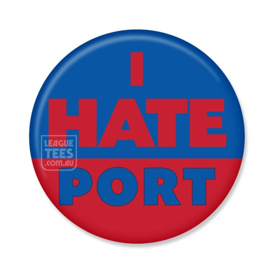 I Hate Port Melbourne badge