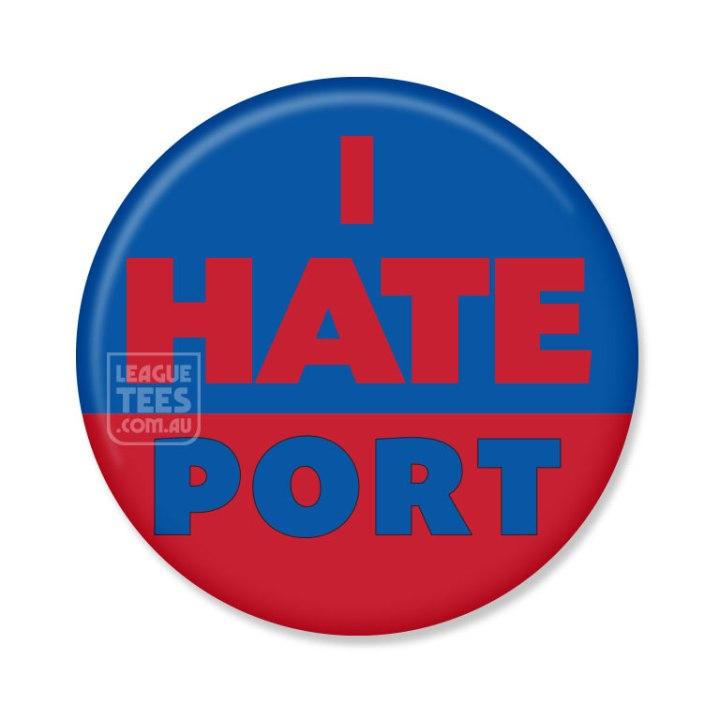 I Hate Port Melbourne badge