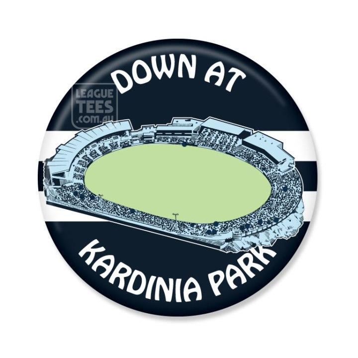 Kardinia Park vintage football badge