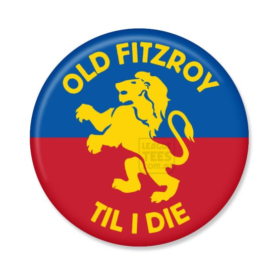 fitzroy football club vintage badge