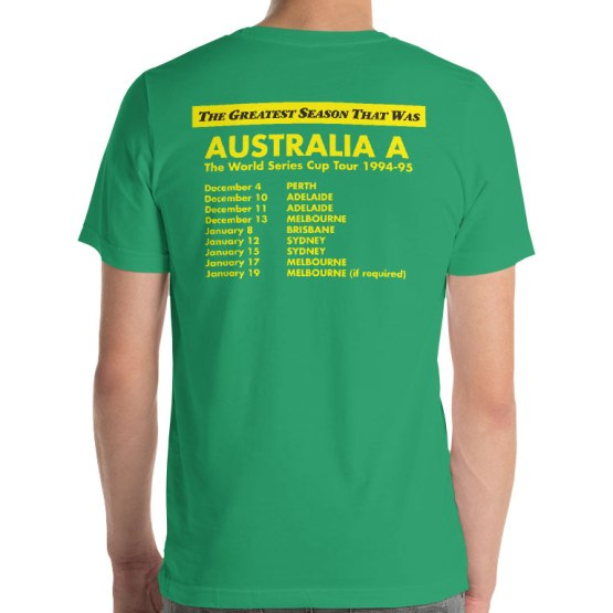 Australia A the Greatest Season that Was back