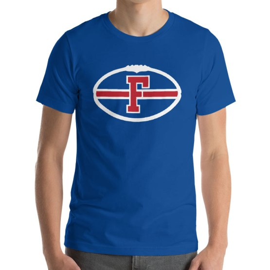 footscray football logo t shirt