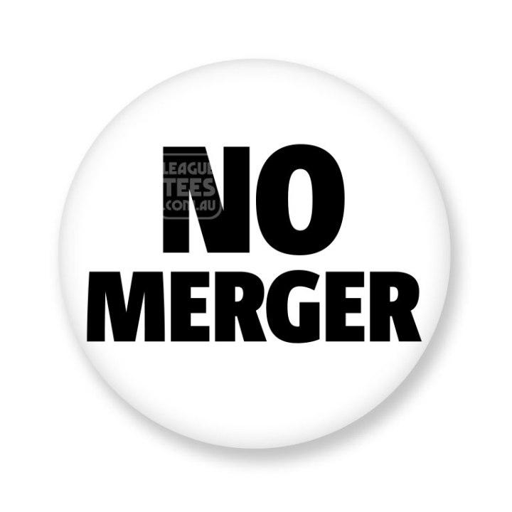 no merger badge