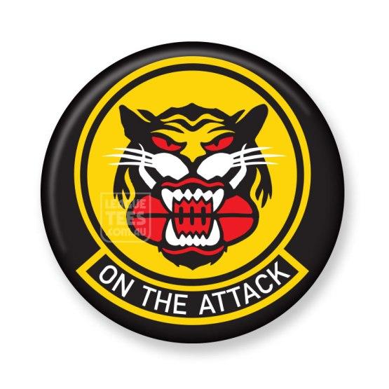 tiger army football badge