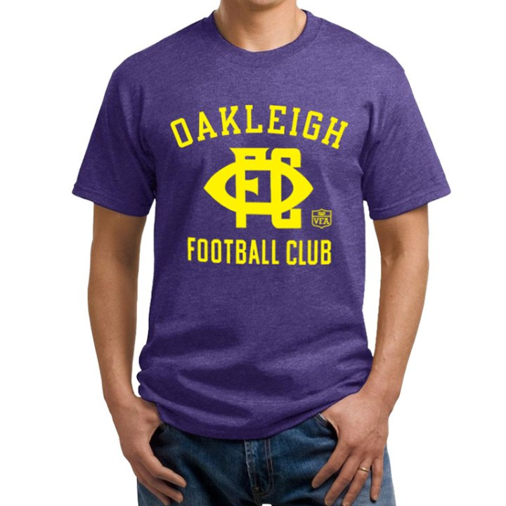 oakleigh football club vfa shirt