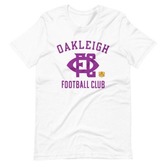 oakleigh football club vintage football shirt