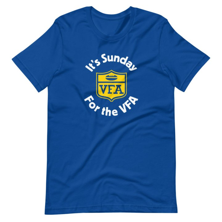 vfa football shirt blue