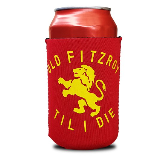 fitzroy fotball club stubby holder