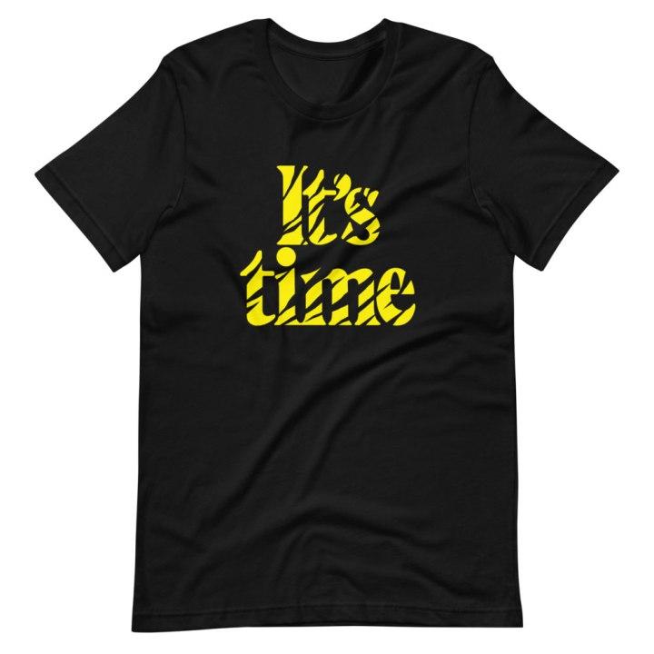tiger time football shirt