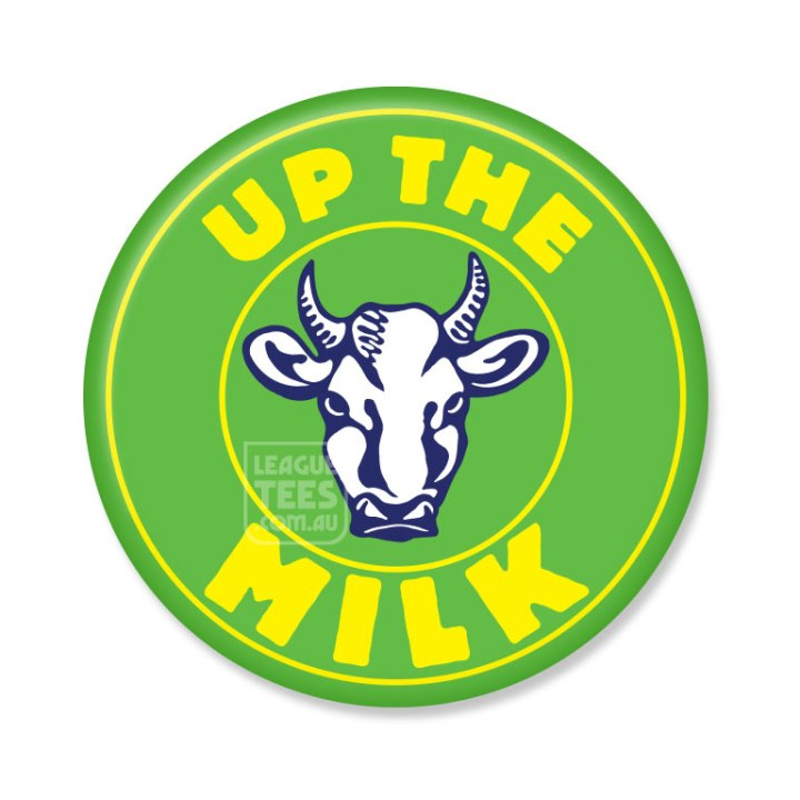 up the milk badge