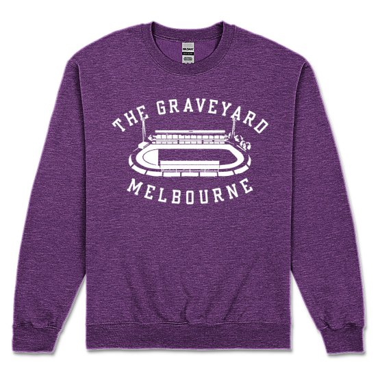 melbourne rugby league retro sweater