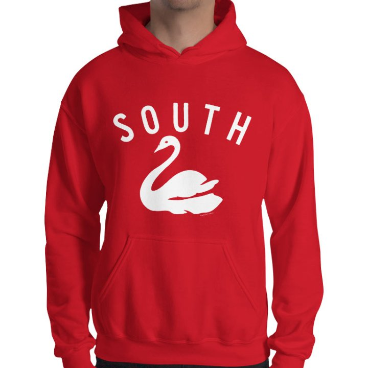 South Melbourne retro hoodie