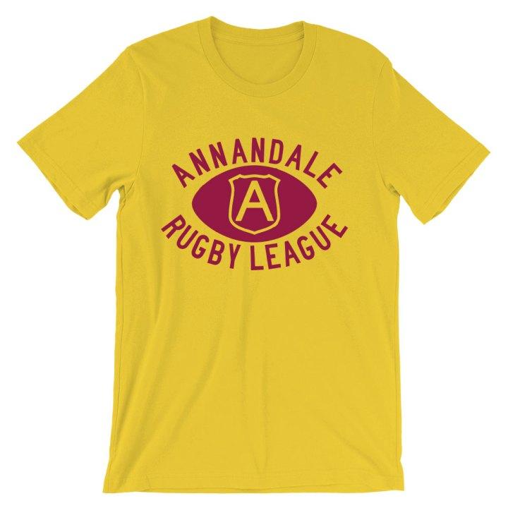 annandale rugby league retro shirt
