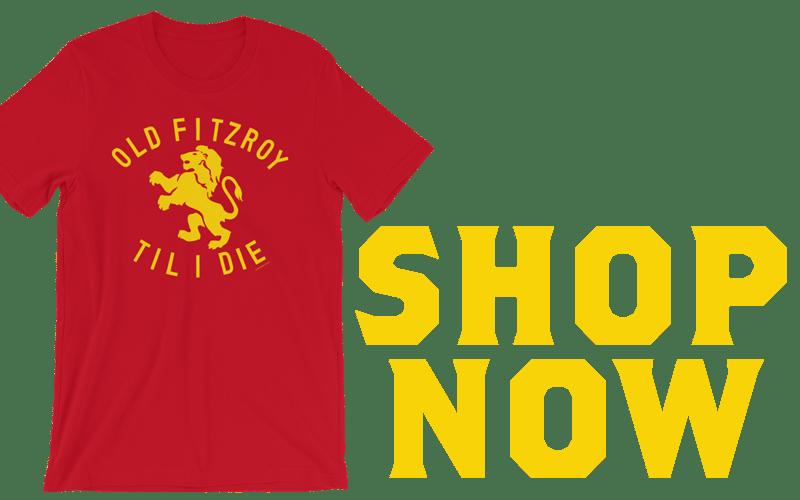 Old Fitzroy Jonathan Brown shirt
