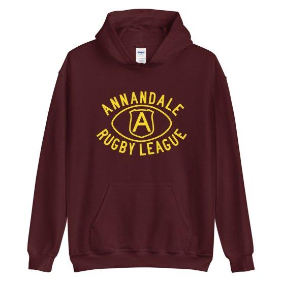 Annandale retro football hoodie