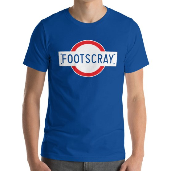 Footscray station vintage shirt