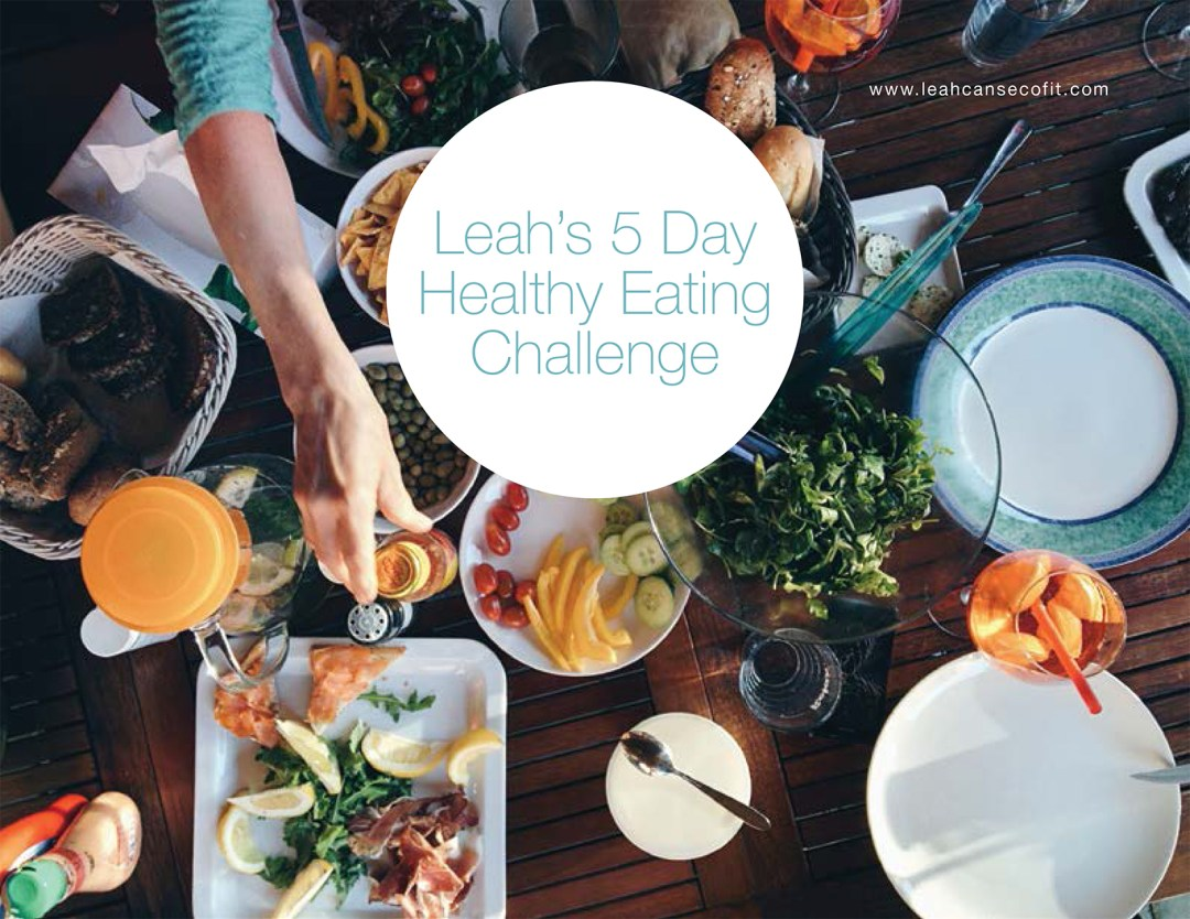 leah's 5 day free meal plan