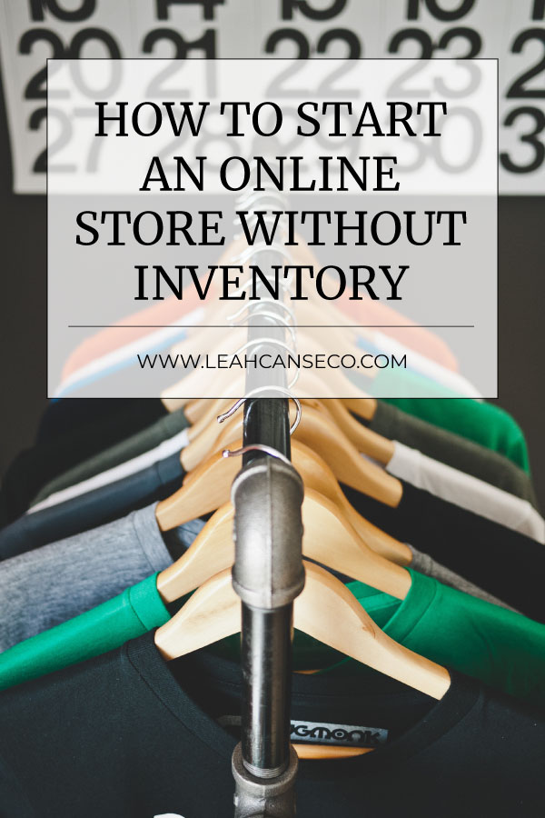 How to start an online store without inventory #ecom #shopify #onlinestore #ecommerce