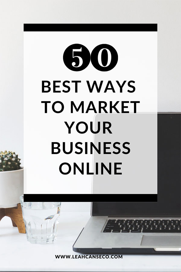 50 best ways to market your business online