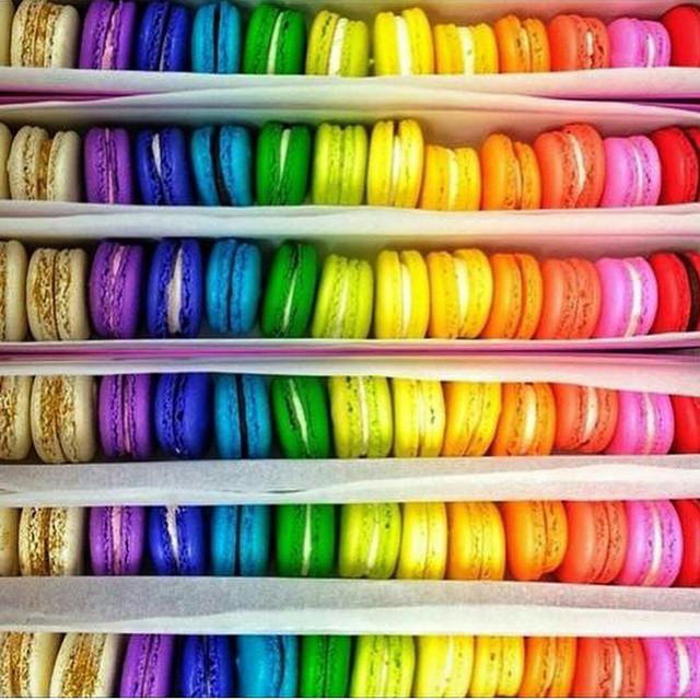 Equality! Macarons! Love.