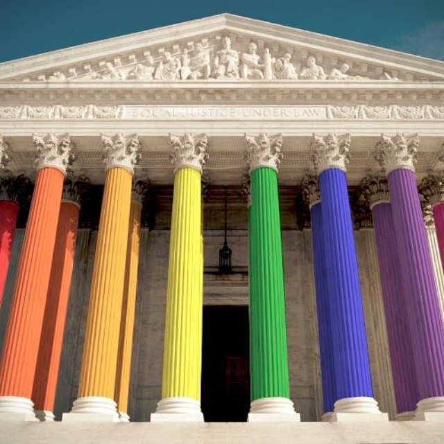 Proud of this country today. http://www.npr.org/sections/thetwo-way/2015/06/26/417717613/supreme-court-rules-all-states-must-allow-same-sex-marriages