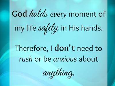 God Holds Every Moment