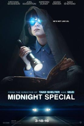 movie poster Midnight Special (2016)