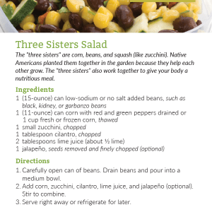 Three Sisters Salad
