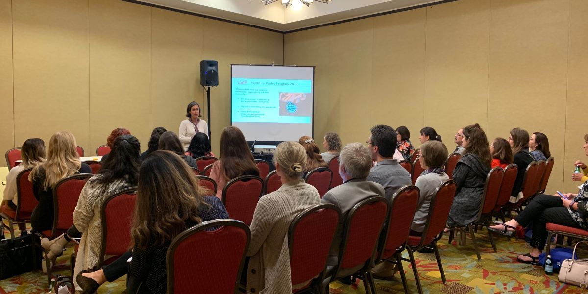 Moving Toward Trauma-Informed Nutrition Security at CAFB Conference