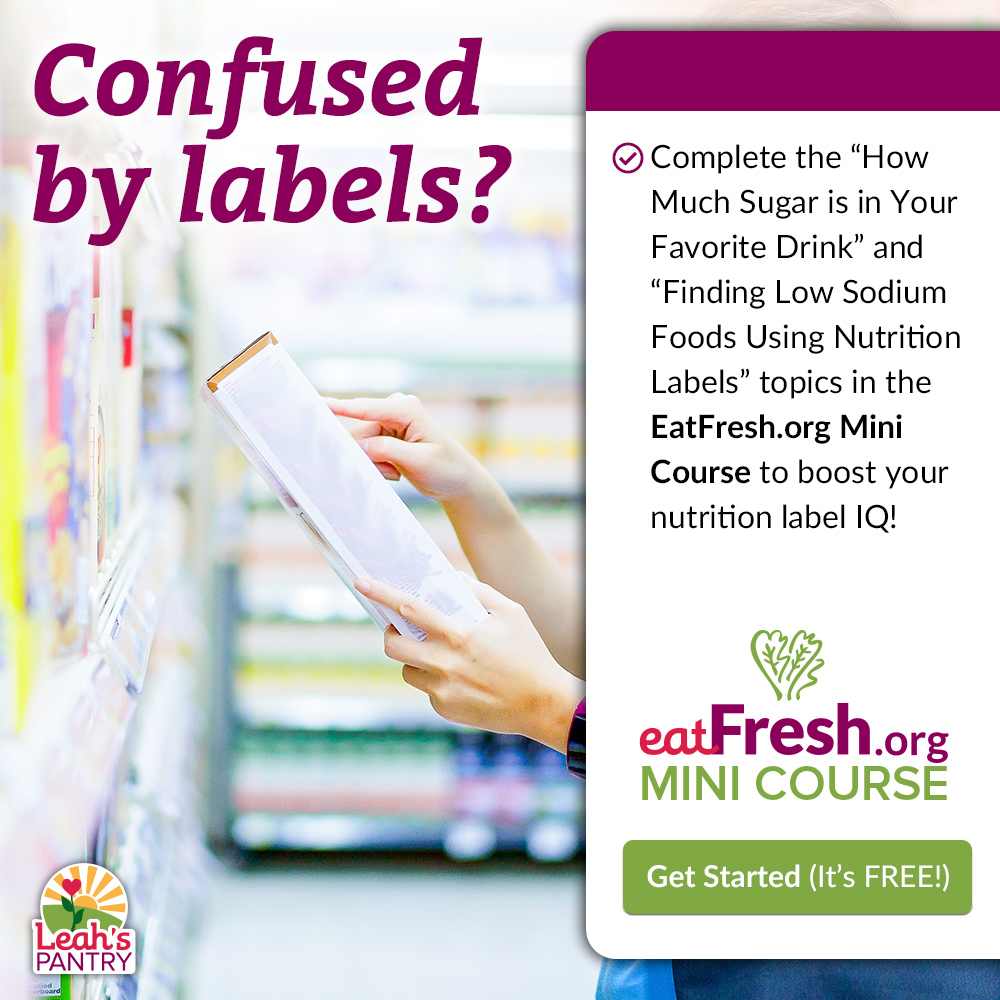 Check out the EatFresh.org Mini Course!