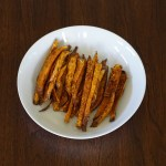 DSC03707 - Healthy Baked Sweet Potato Fries
