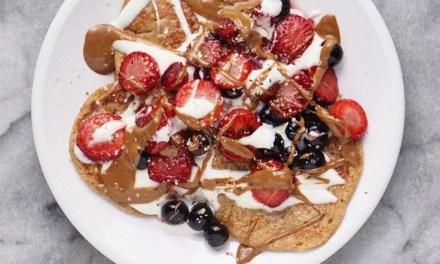 Vegan Flourless Banana Oatmeal Pancakes