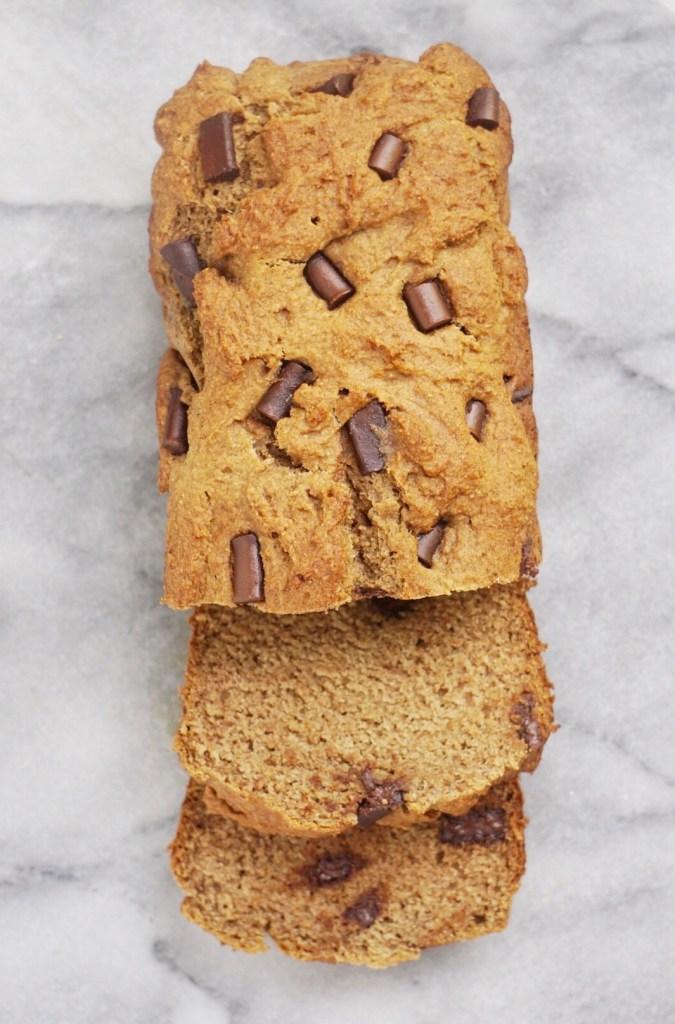 Vegan Spelt Banana Bread4 675x1024 - The Best Vegan Whole Wheat Chocolate Chip Banana Bread