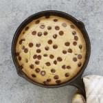Chocolate Chip Pancake Skillet Bake ft - Allergen-Free Chocolate Chip Pancake Skillet Bake (Vegan & Gluten-Free)