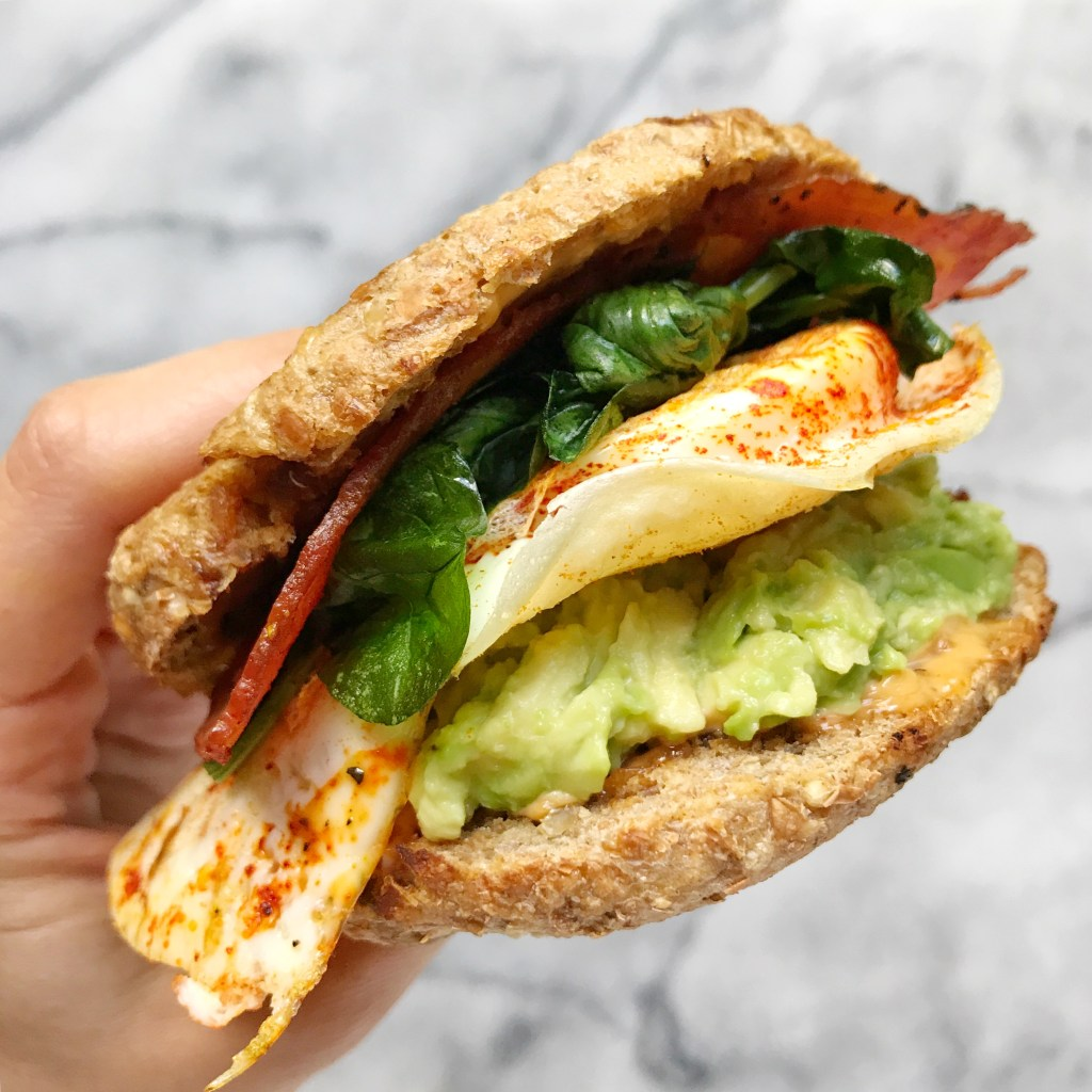 Healthy Egg McMuffin by Leahs Plate 1024x1024 - MY Version of the BEST Healthy Egg McMuffin EVER!