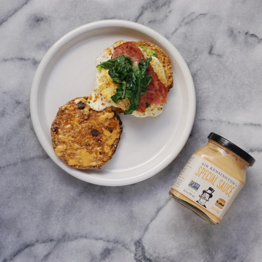 Healthy Egg McMuffin by Leahs Plate5 1024x1024 - MY Version of the BEST Healthy Egg McMuffin EVER!