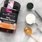 Yogurt Honey Spirulina Face Mask - Skin-Brightening Probiotic Yogurt, Honey & Spirulina Face Mask
