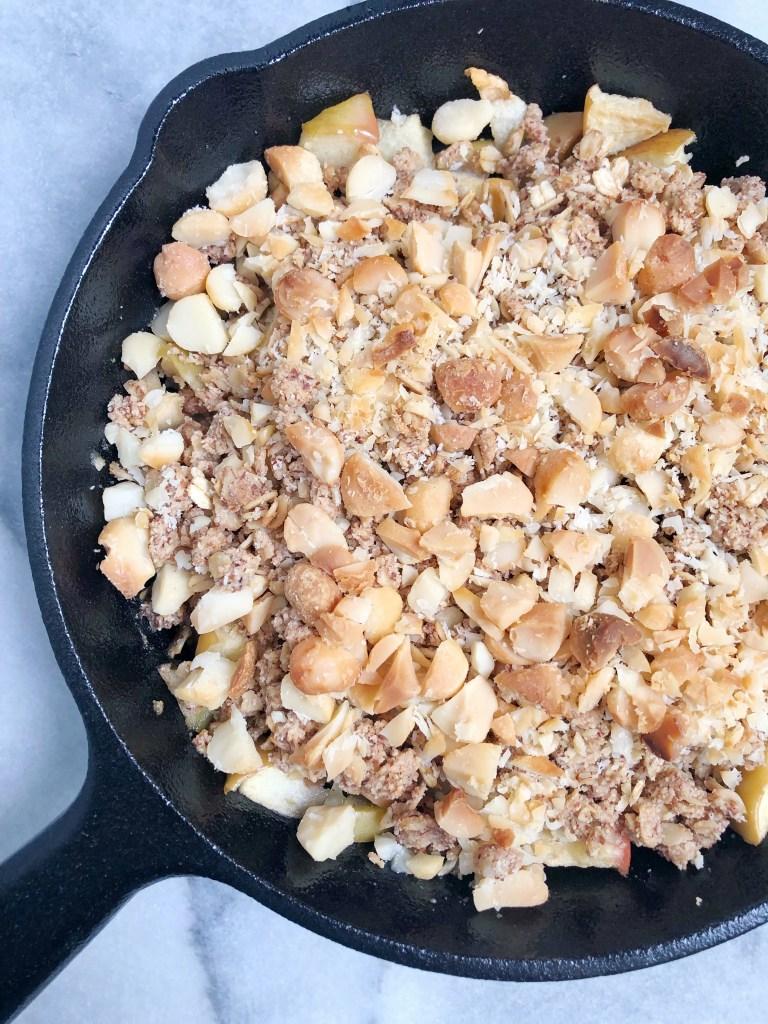 Macadamia Apple Crisp (Gluten-Free & Vegan)