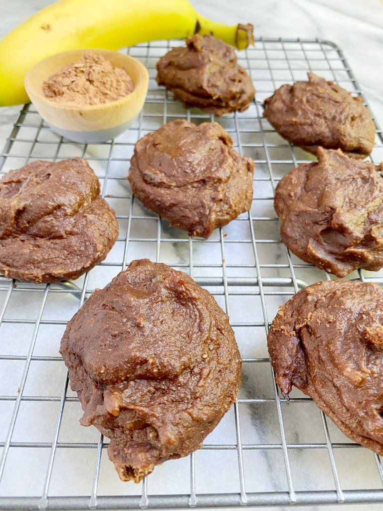 No Sugar Paleo Chocolate Banana Cookies
